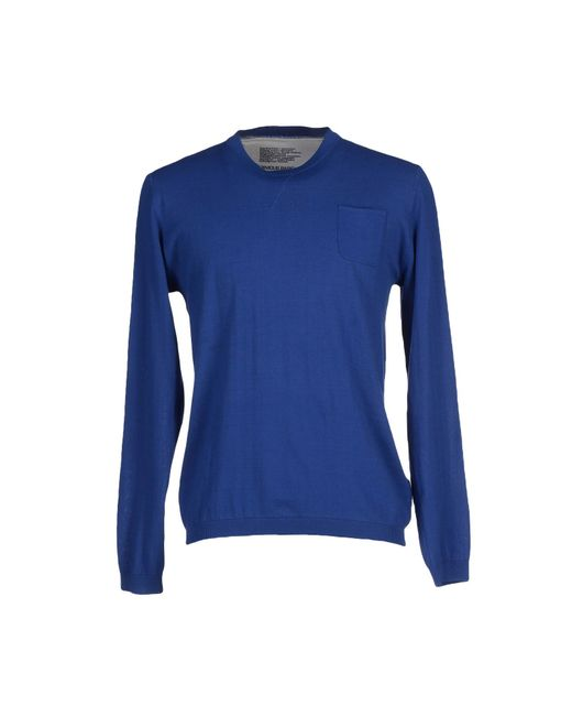 Obvious Basic   Blue Sweater for Men   Lyst