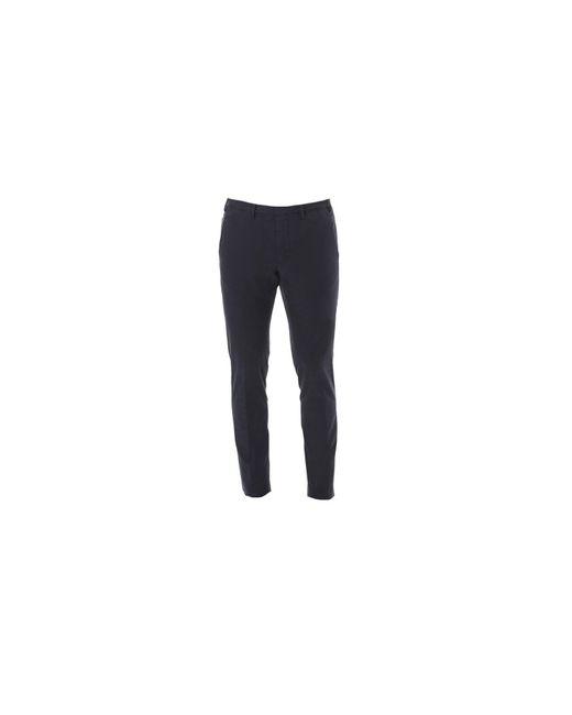 Dell'Oglio | Blue Poplin Cotton Trousers for Men | Lyst