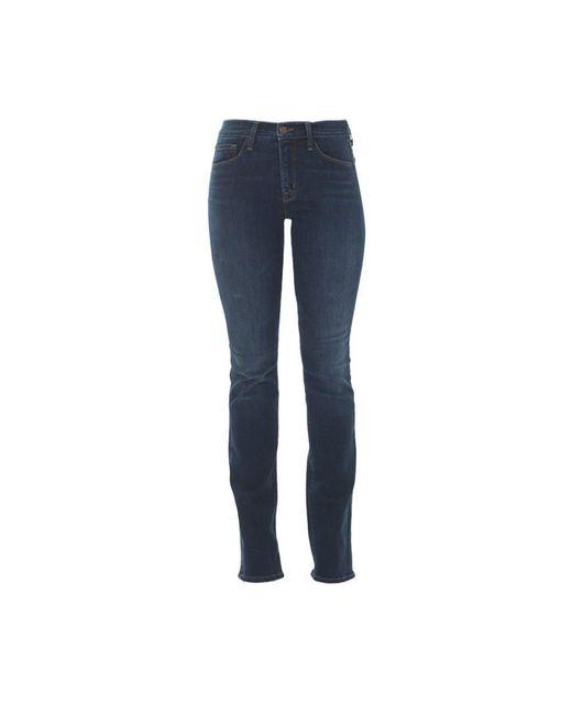 J Brand | Blue Low-rise Skinny Denim Jeans | Lyst