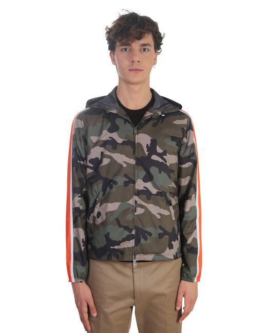 Valentino | Multicolor Nylon K-way Jacket for Men | Lyst