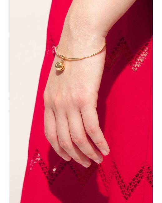 Aurelie Bidermann | Metallic Yellow Gold Bell Bracelet | Lyst