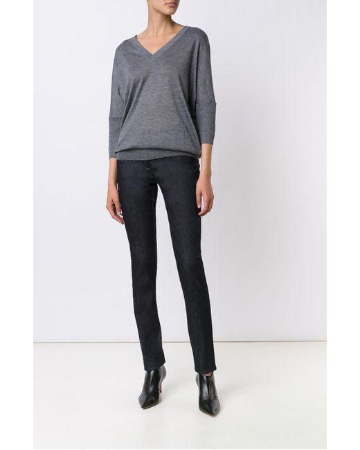 Derek Lam   Gray Dolman Sleeve Sweater   Lyst