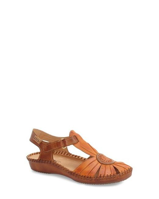 Pikolinos | Brown 'p. Vallerta' Leather Flat | Lyst