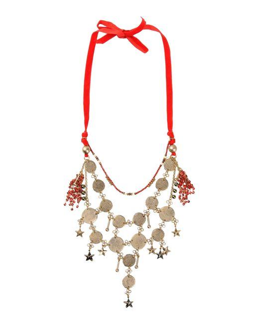 Erickson Beamon | Red Necklace | Lyst