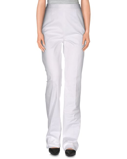 DSquared² | White Casual Pants | Lyst