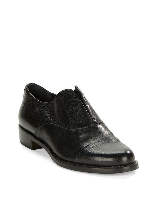 Black Leather Magellan Shoes