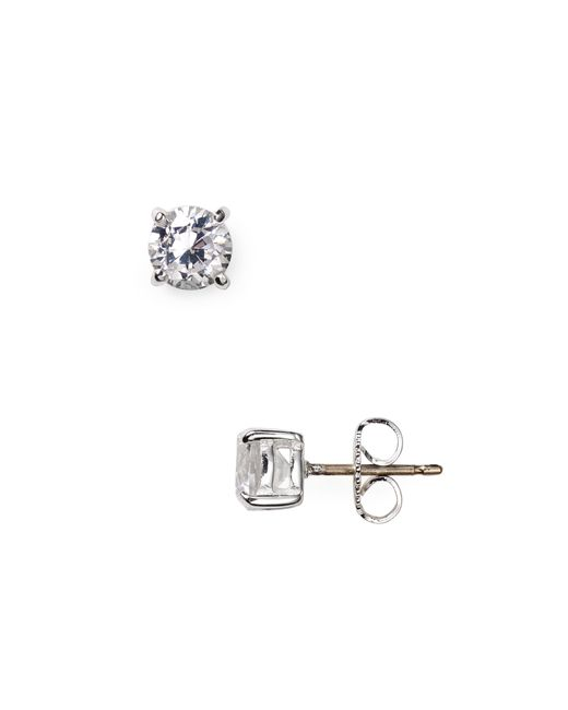 Carolee | Metallic Medium Cubic Zirconia Stud Earrings | Lyst
