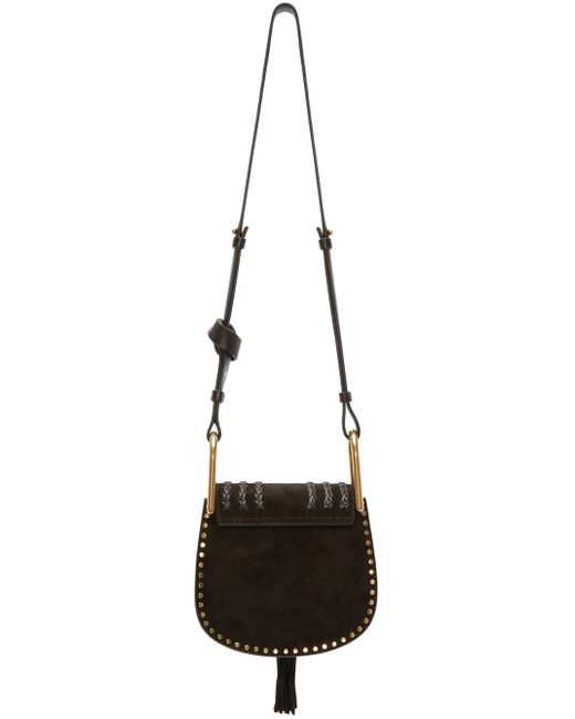 chloe bag - Chlo�� Hudson Mini Suede Shoulder Bag in Black | Lyst
