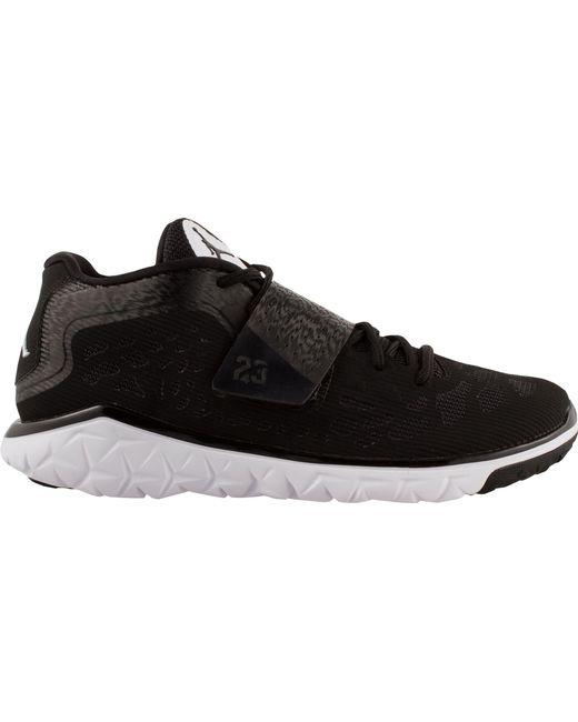 lyst nike in volo flex tr 2 formazione scarpe in nero per gli uomini.
