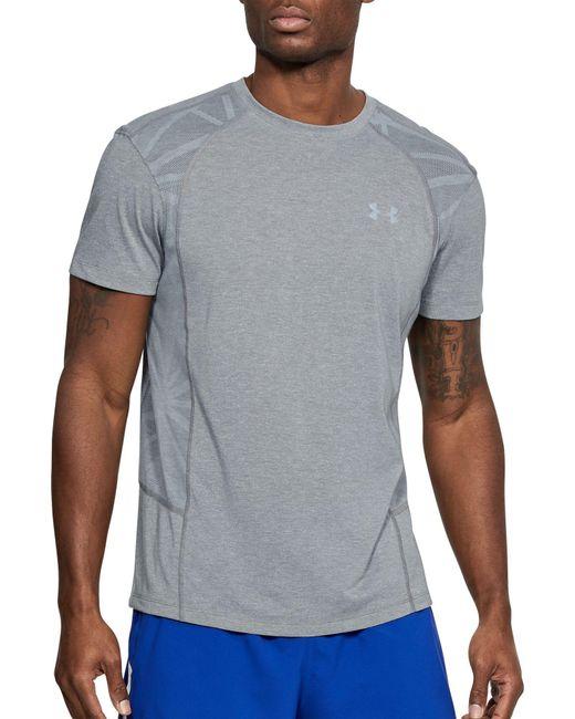Under Armour - Gray Swyft Running Shirt for Men - Lyst