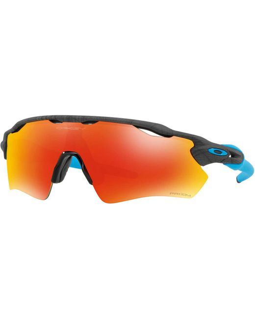 4383d715ea Oakley - Orange Radar Ev Path Prizm Sunglasses for Men - Lyst ...