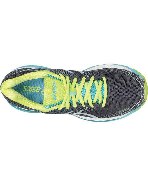 Chaussures de course de Gel femmes nimbus 18 pour femmes Lyst Asics Asics Économisez 28% d50ac4a - cancercareinfo.site