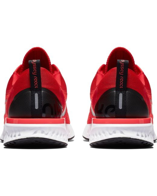 626e37510fef9 Lyst - Nike Odyssey React Running Shoes in Red for Men - Save 19%
