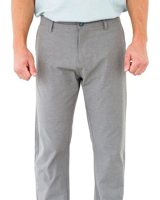 Linksoul | Gray Linen Boardwalker Performance Golf Pants for Men | Lyst