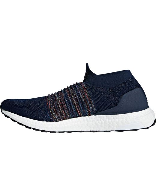 764a24ed5 ... Adidas - Blue Ultraboost Laceless Running Shoes for Men - Lyst ...