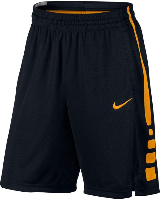 Nike Elite Stripe Basketball Shorts in Black for Men | Lyst