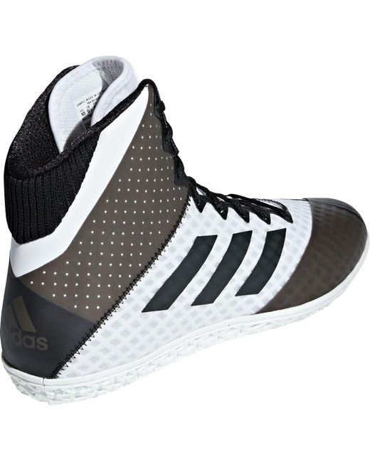936f9d65204e ... Lyst Adidas Mat Wizard 4 Wrestling Shoes in Black for Men