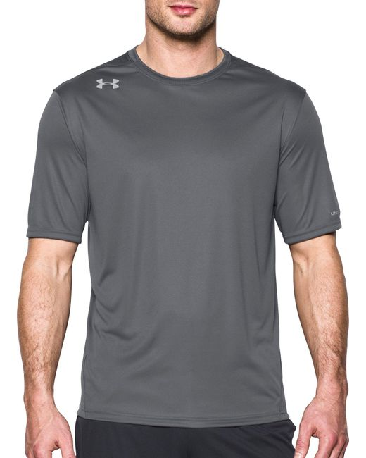Under Armour | Gray Challenger Ii T-shirt for Men | Lyst