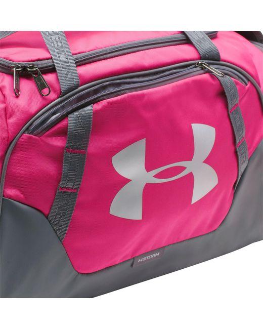 ... Under Armour - Pink Undeniable 3.0 Medium Duffle Bag for Men - Lyst ... 88f00c341d