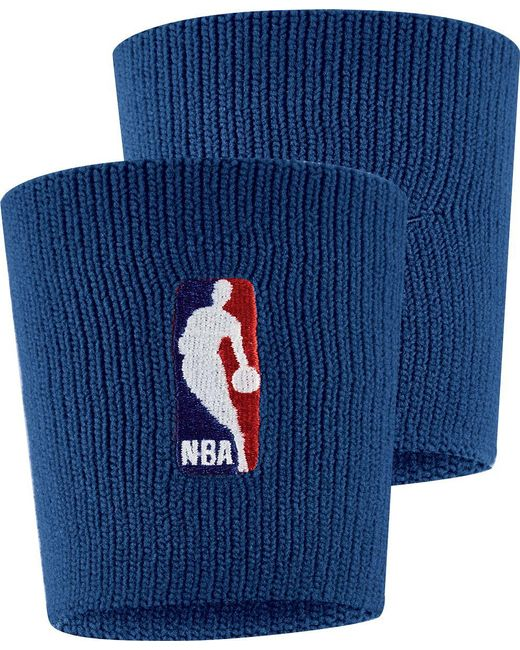 Nike - Blue Nba On-court Wristbands - Lyst
