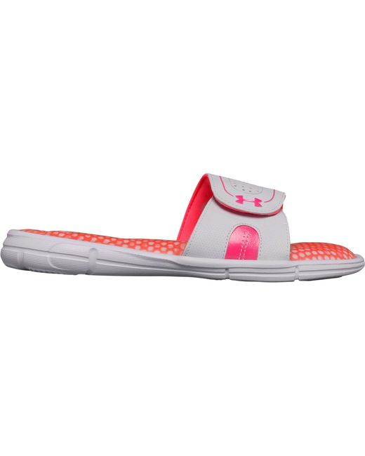 Under Armour Ignite Power In ... Pink VIII Women's Slide Sandals B3POBrKKGZ