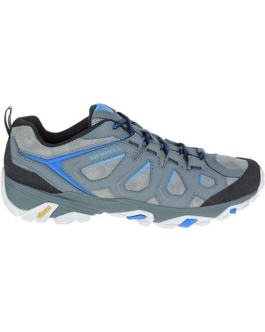 8683778665c Men's Blue Moab Fst Leather Hiking Shoes