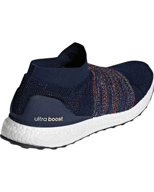 073dfe6646194 ... Adidas - Black Ultraboost Laceless Running Shoes for Men - Lyst ...
