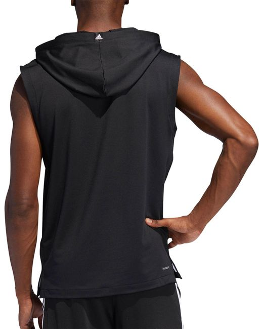 a845e2a4 ... Adidas - Black Pro Madness Basketball Hoodie for Men - Lyst ...