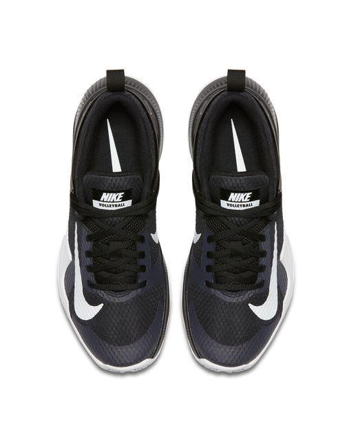 62842f4633a9 Zoom Hyperace Lyst Volleyball In Air Black Shoes Nike 7ZxnRH