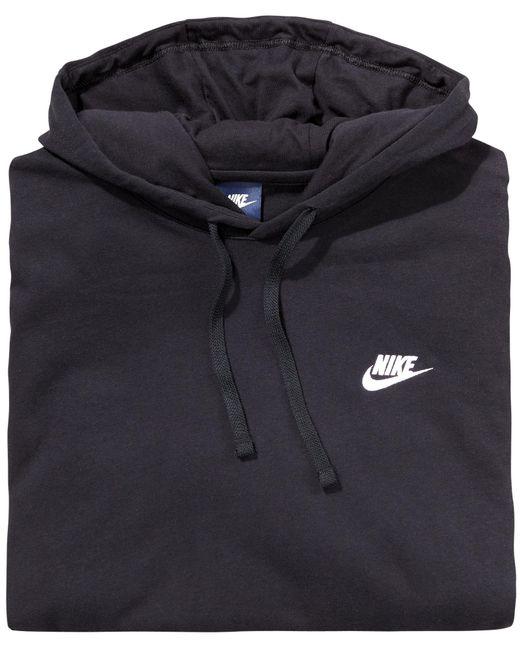 b866a7614 ... Nike - Black Sportswear Club Hoodie for Men - Lyst ...