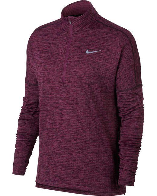 Nike Therma Sphere Element Long Sleeve Half Zip Running