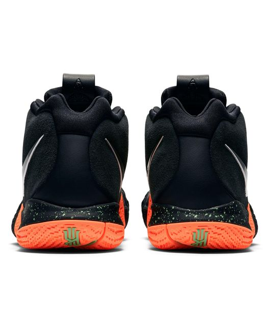 790d8d8f26fb ... Nike - Black Kyrie 4 Basketball Shoes for Men - Lyst ...