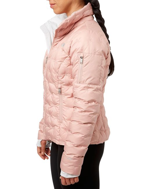 0c94f1cfaa Lyst - The North Face Holladown Crop Jacket in Pink - Save 60%