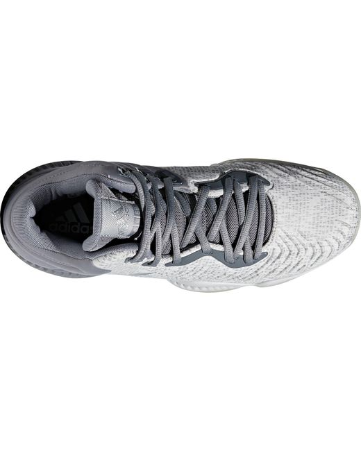 632a58298255d ... Adidas - Gray Mad Bounce 2018 Basketball Shoes for Men - Lyst ...