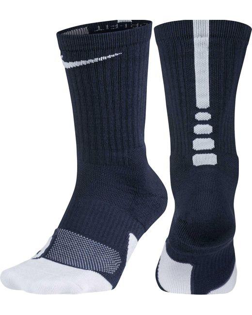 Nike - Blue Dry Elite 1.5 Crew Basketball Socks for Men - Lyst