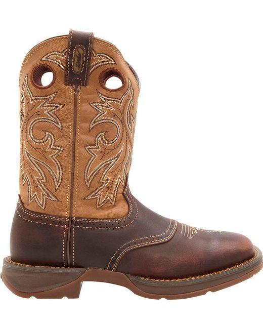 Durango - Brown Rebel Saddle Up Work Boots for Men - Lyst