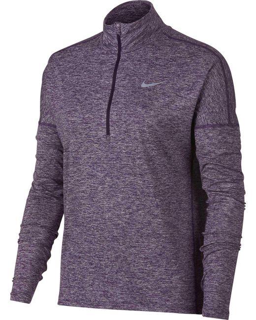 Lyst Nike Dry Element Half Zip Long Sleeve Running Shirt