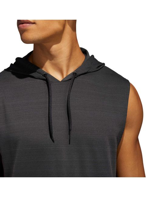 af3436052864 Lyst Lyst Hoodie Adidas Axis For Point Sleeveless Men rwrCdIqn