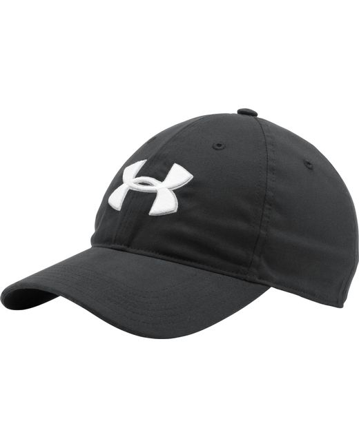a60be7dacab Lyst Under Armour Chino Golf Hat In Black For Men