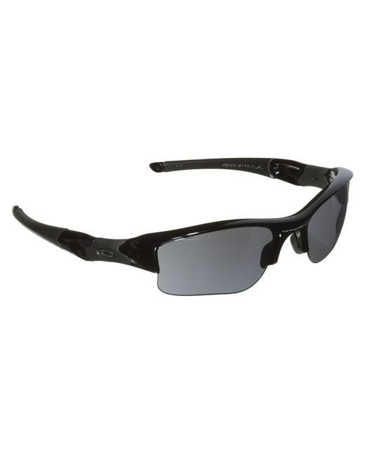 5f021b2009 ... Oakley - Black Flak Jacket Xlj Sunglasses for Men - Lyst ...