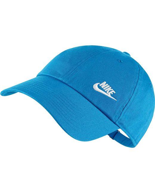 Nike - Blue Twill H86 Adjustable Hat - Lyst