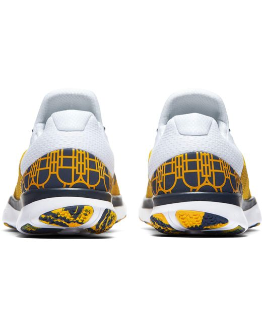 ... Nike | Yellow Free Trainer V7 Week Zero Michigan Edition Training Shoes  for Men | Lyst ...