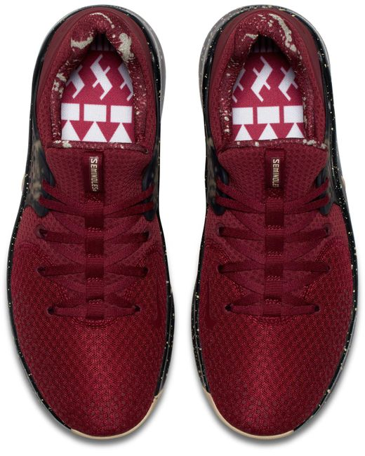 6b0a4d0f21acc ... Nike - Red Free Tr 8 Florida State Training Shoes for Men - Lyst ...