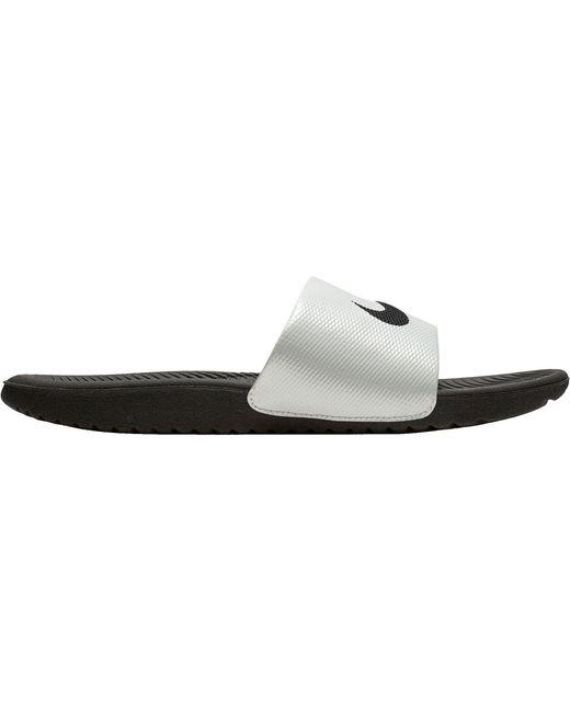 381a0b725ffe Nike - Black Kawa Slides - Lyst ...