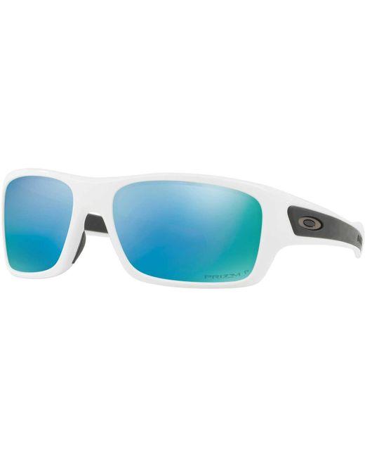 12f409080b6 ... Oakley - Blue Youth Turbine Xs Sunglasses for Men - Lyst
