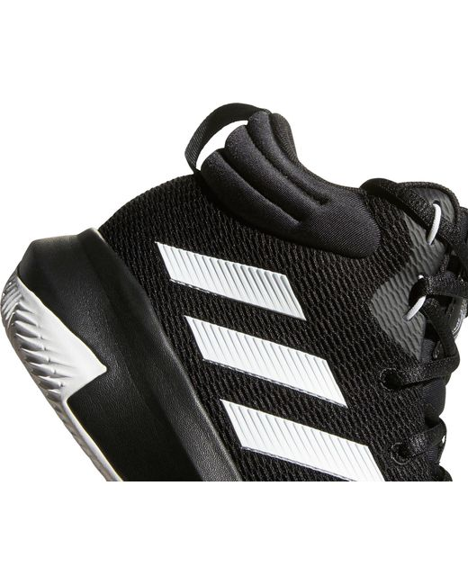 dc393ad8102 ... Adidas - Black Pro Elevate 2018 Basketball Shoes for Men - Lyst ...