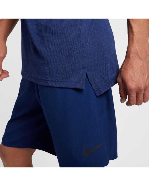 16d252649c9af ... Nike - Blue Hyper Dry Training Tank Top for Men - Lyst ...
