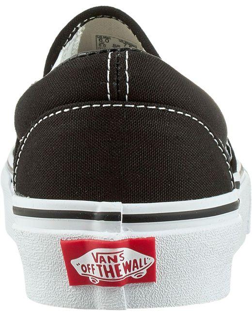a9d7da767f ... Vans - Black Classic Slip-on Shoes - Lyst ...