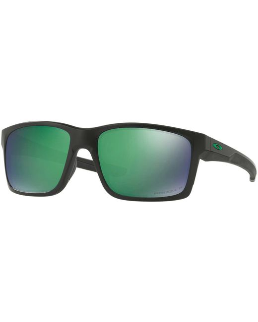 34ca3cae83 Oakley - Green Mainlink Prizm Polarized Sunglasses for Men - Lyst ...