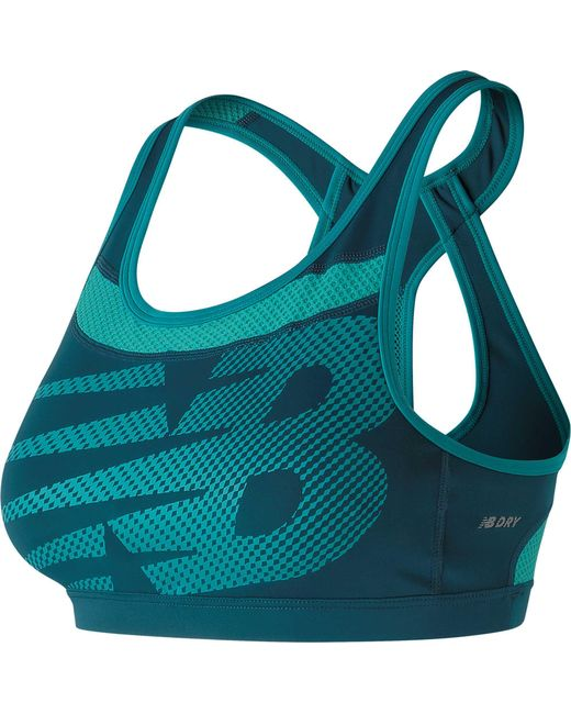 73f6ce5df0 Lyst - New Balance Pulse Sports Bra in Blue - Save 2%